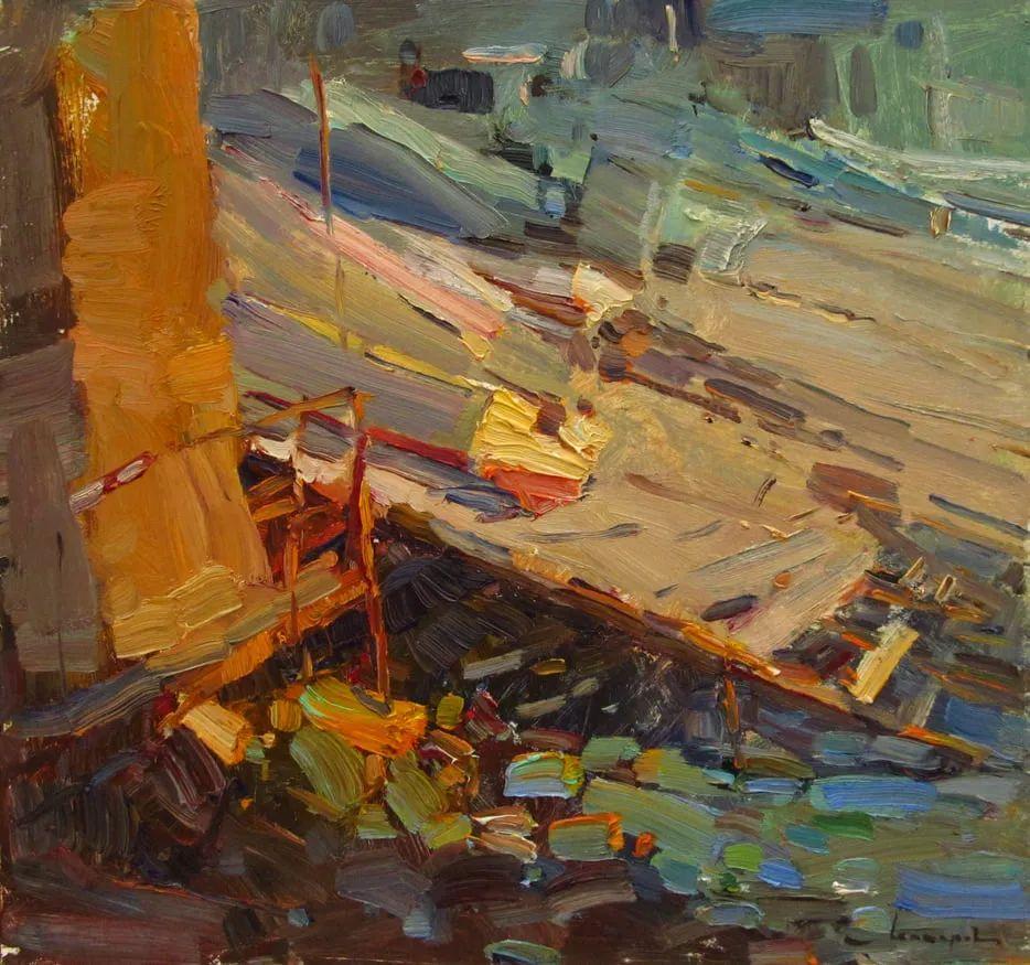 颜色与光:俄罗斯画家Vitaly Makarov作品选 插图133