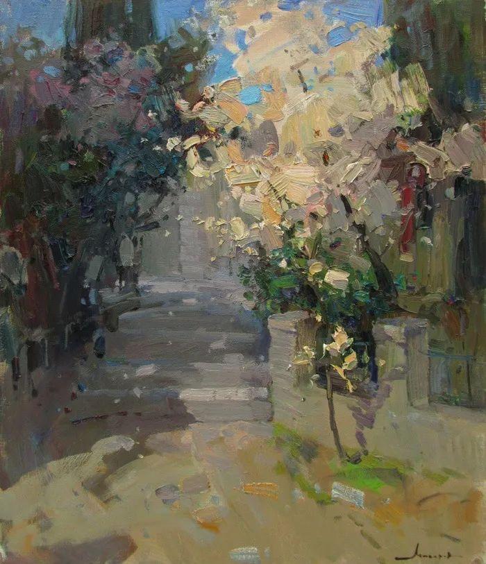 颜色与光:俄罗斯画家Vitaly Makarov作品选 插图137
