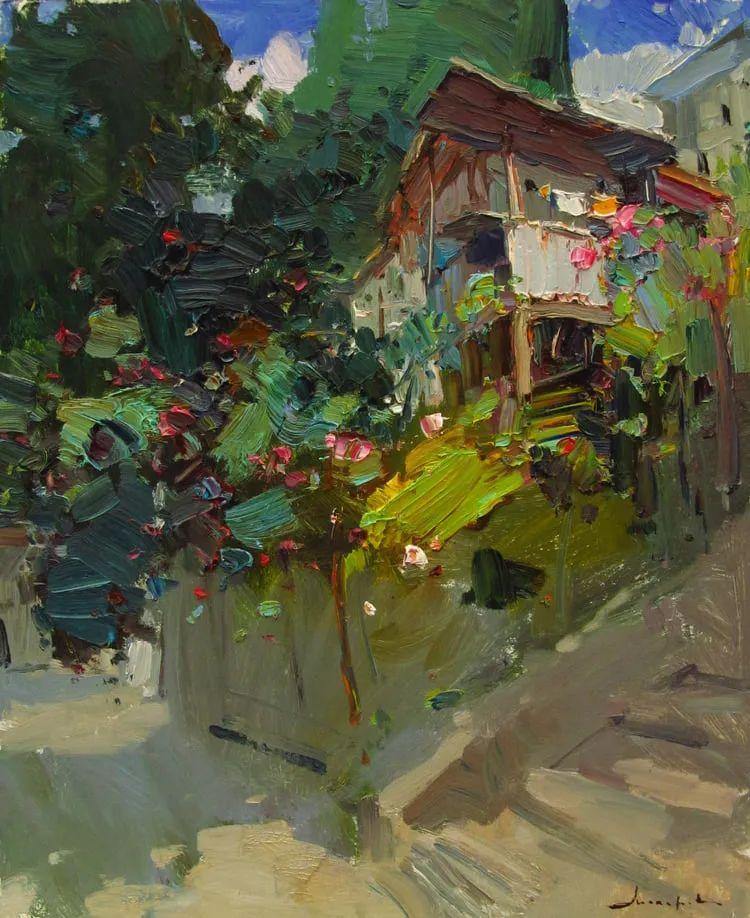 颜色与光:俄罗斯画家Vitaly Makarov作品选 插图139