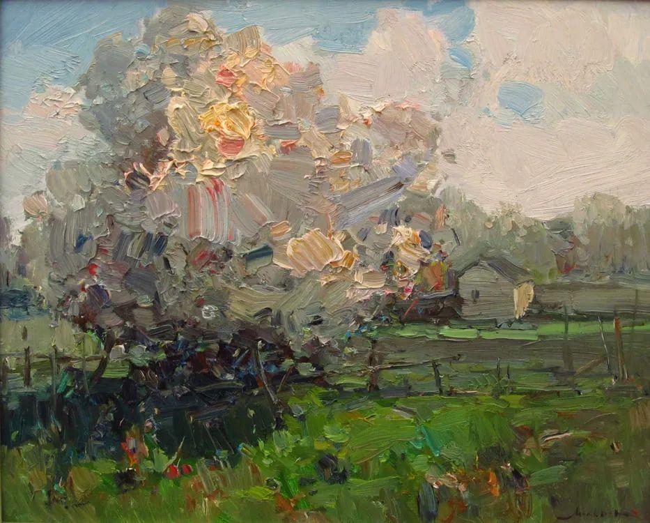 颜色与光:俄罗斯画家Vitaly Makarov作品选 插图143