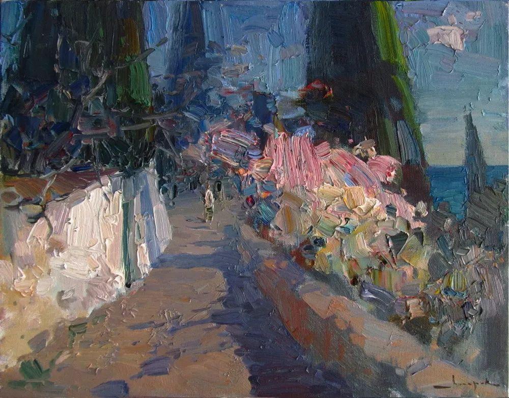 颜色与光:俄罗斯画家Vitaly Makarov作品选 插图159