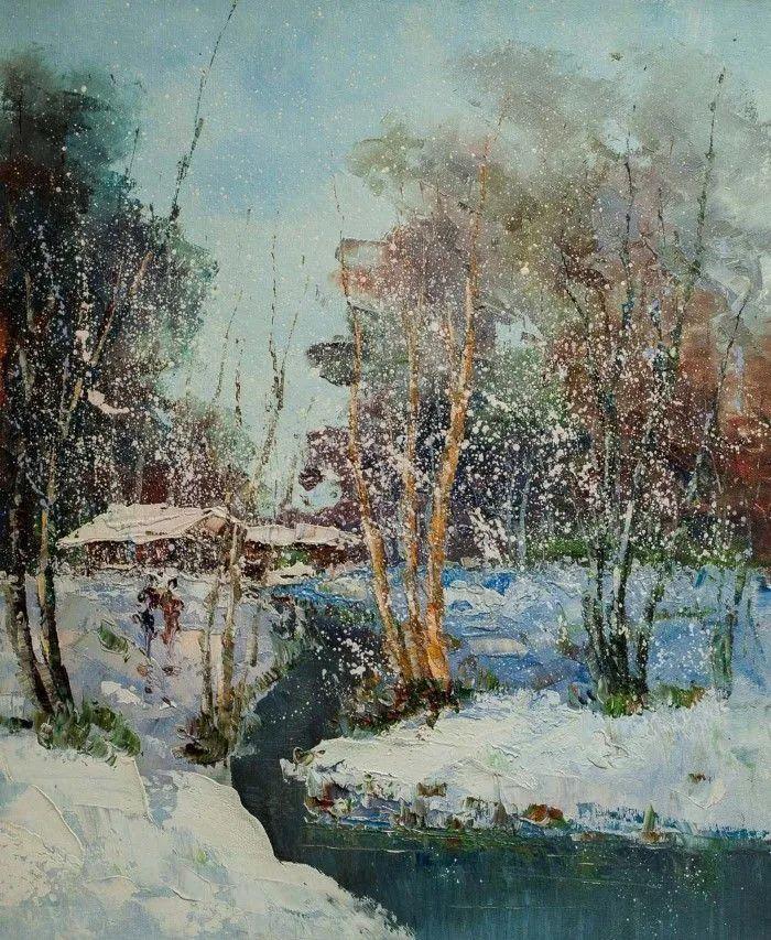 俄罗斯艺术家安德烈·萨拉巴林风景画选插图25