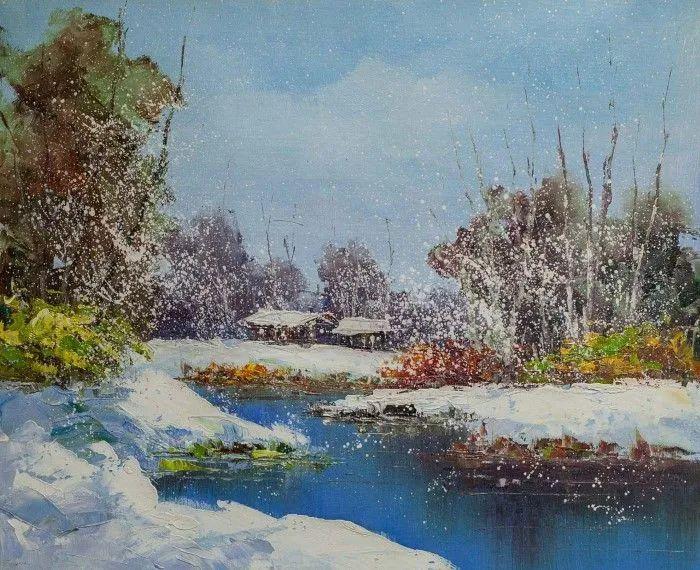 俄罗斯艺术家安德烈·萨拉巴林风景画选插图29