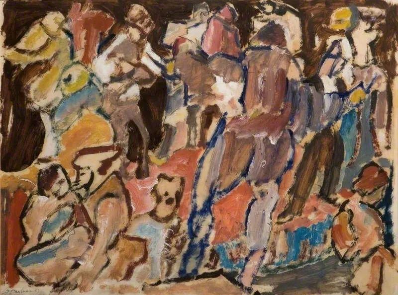 激进潮流中最大胆的英国艺术家,大卫·邦伯格作品选插图41