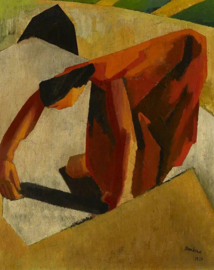 激进潮流中最大胆的英国艺术家,大卫·邦伯格作品选插图55
