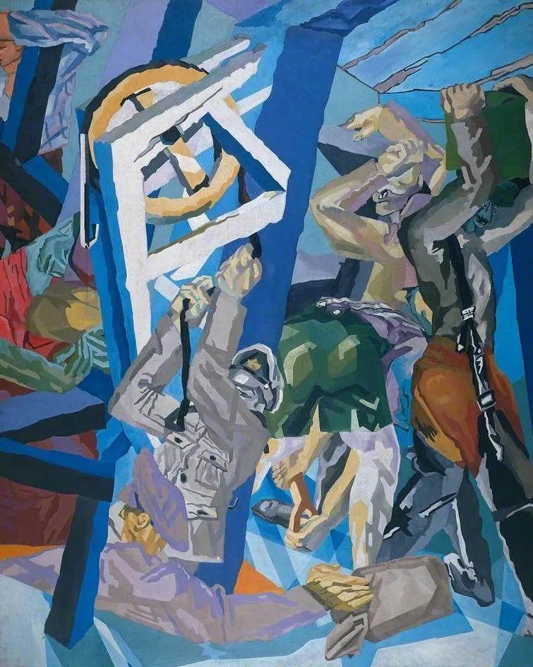 激进潮流中最大胆的英国艺术家,大卫·邦伯格作品选插图111