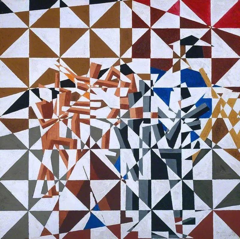 激进潮流中最大胆的英国艺术家,大卫·邦伯格作品选插图117