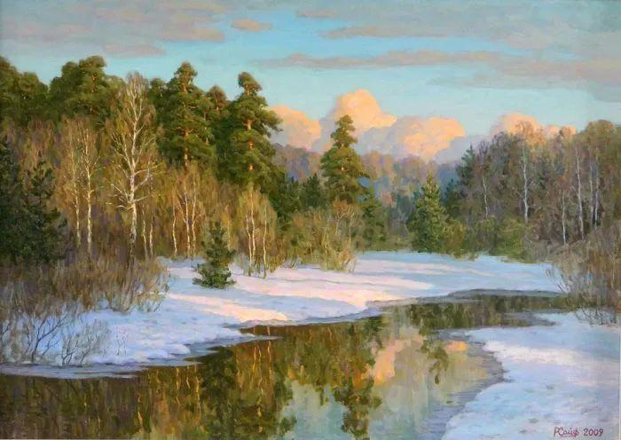 俄罗斯风景的隐藏之美,雷姆·塞弗鲁姆卢科夫作品选插图3