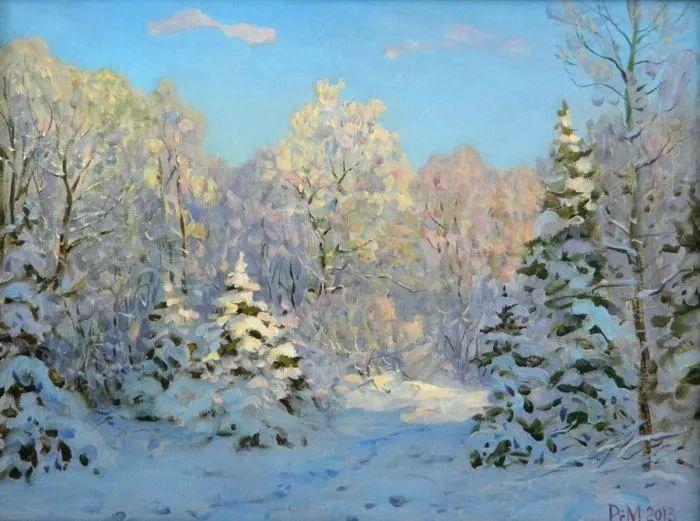 俄罗斯风景的隐藏之美,雷姆·塞弗鲁姆卢科夫作品选插图13