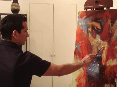 抽象表现主义,美国画家Henry Asencio作品选插图5