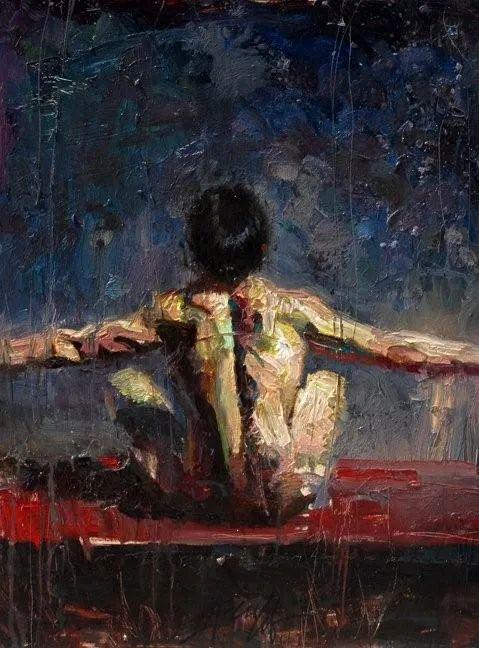 抽象表现主义,美国画家Henry Asencio作品选插图9