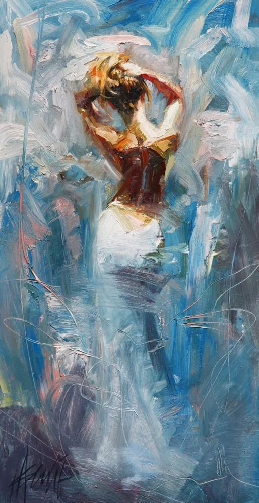 抽象表现主义,美国画家Henry Asencio作品选插图21