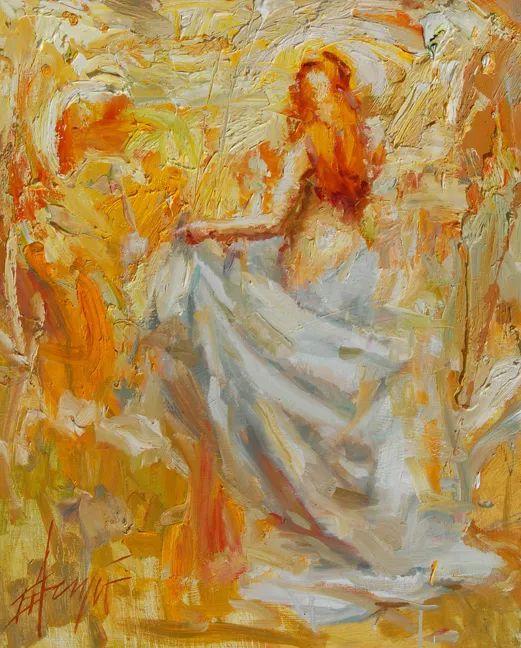 抽象表现主义,美国画家Henry Asencio作品选插图27