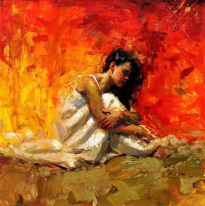 抽象表现主义,美国画家Henry Asencio作品选插图35