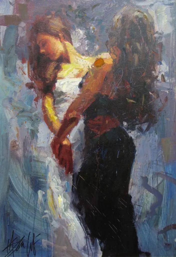抽象表现主义,美国画家Henry Asencio作品选插图37