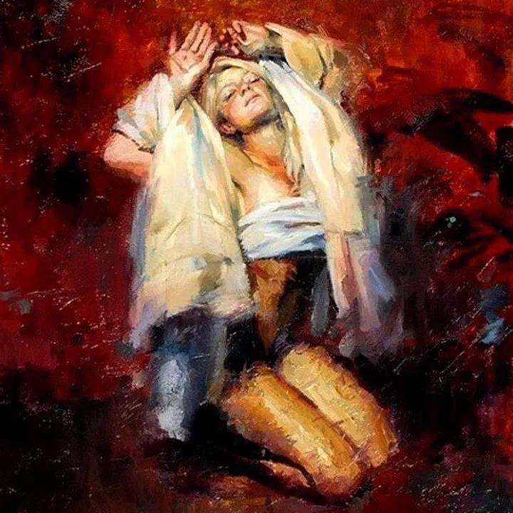 抽象表现主义,美国画家Henry Asencio作品选插图39