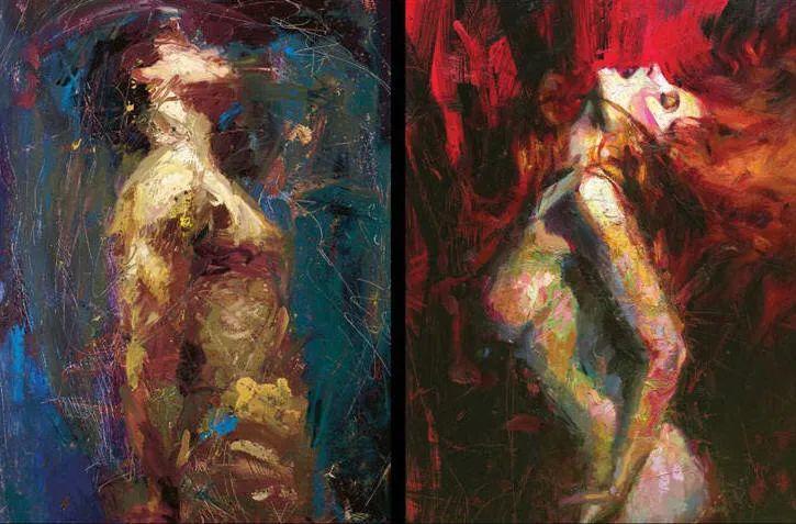 抽象表现主义,美国画家Henry Asencio作品选插图41