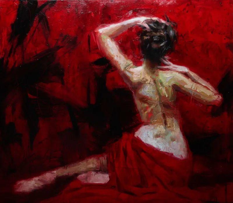 抽象表现主义,美国画家Henry Asencio作品选插图47