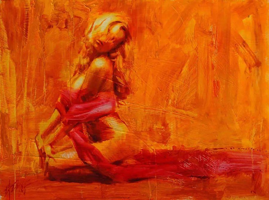 抽象表现主义,美国画家Henry Asencio作品选插图53