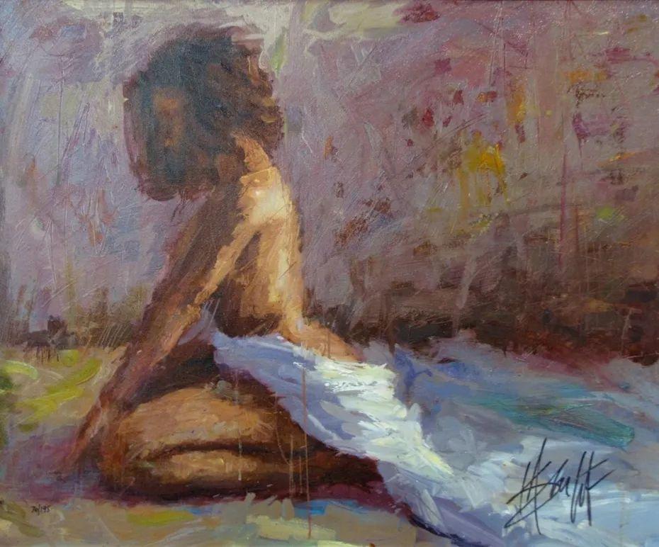 抽象表现主义,美国画家Henry Asencio作品选插图55