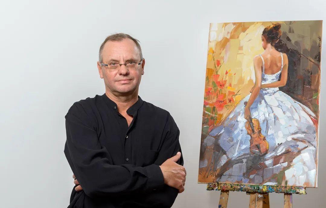 捕捉舞者的瞬间,色彩丰富表现力强!乌克兰画家阿纳托利·梅特兰插图5