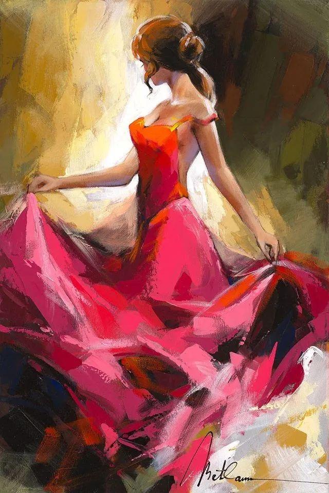 捕捉舞者的瞬间,色彩丰富表现力强!乌克兰画家阿纳托利·梅特兰插图7