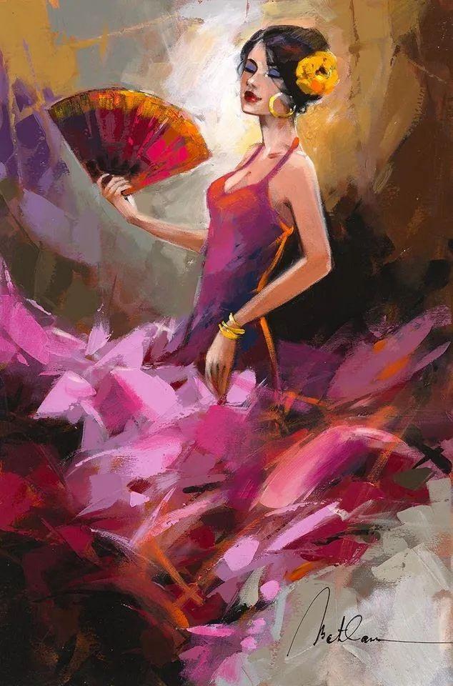 捕捉舞者的瞬间,色彩丰富表现力强!乌克兰画家阿纳托利·梅特兰插图9