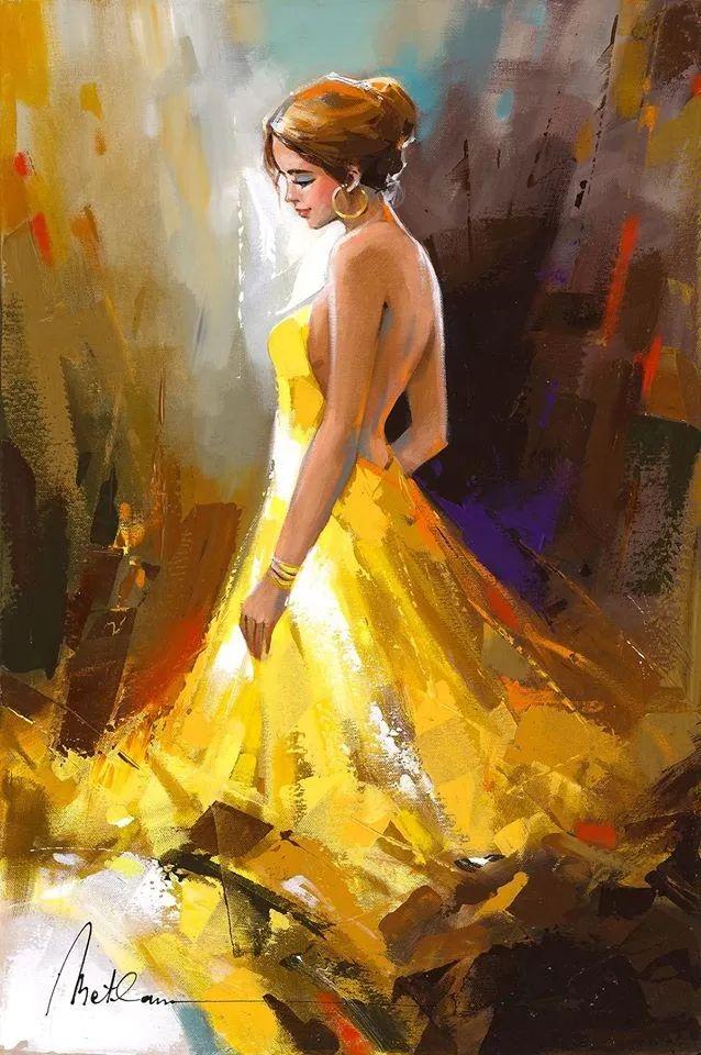 捕捉舞者的瞬间,色彩丰富表现力强!乌克兰画家阿纳托利·梅特兰插图13