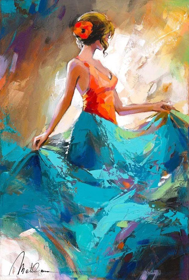 捕捉舞者的瞬间,色彩丰富表现力强!乌克兰画家阿纳托利·梅特兰插图15