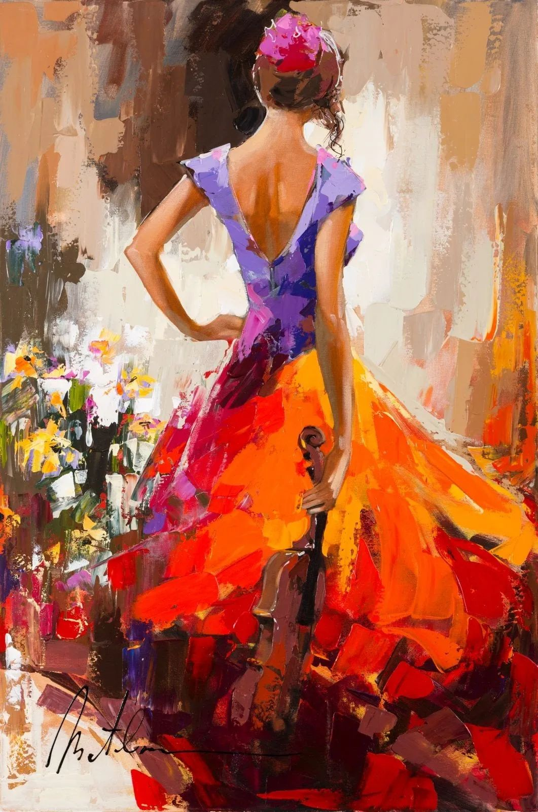 捕捉舞者的瞬间,色彩丰富表现力强!乌克兰画家阿纳托利·梅特兰插图17
