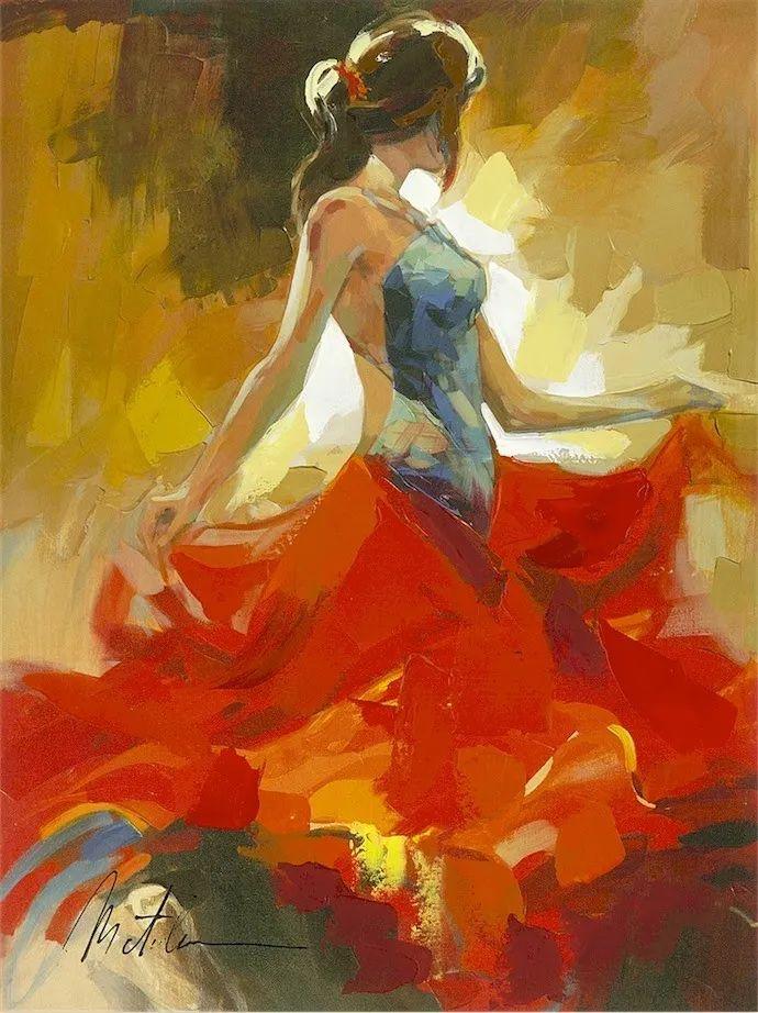 捕捉舞者的瞬间,色彩丰富表现力强!乌克兰画家阿纳托利·梅特兰插图21
