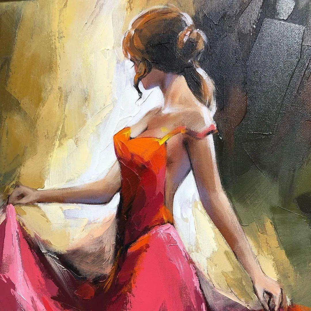 捕捉舞者的瞬间,色彩丰富表现力强!乌克兰画家阿纳托利·梅特兰插图29