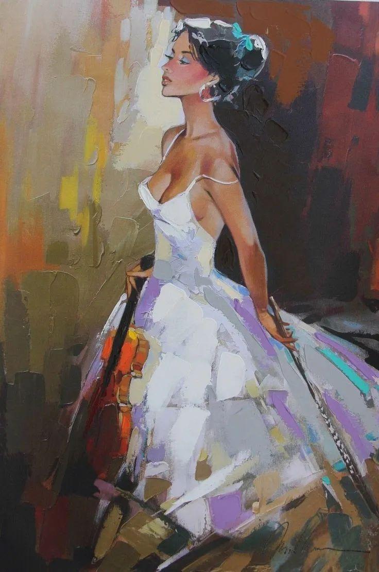 捕捉舞者的瞬间,色彩丰富表现力强!乌克兰画家阿纳托利·梅特兰插图31