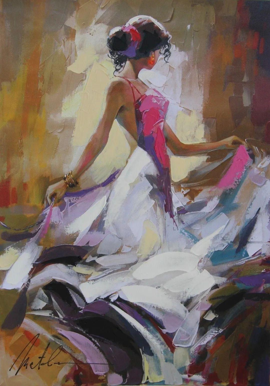 捕捉舞者的瞬间,色彩丰富表现力强!乌克兰画家阿纳托利·梅特兰插图33
