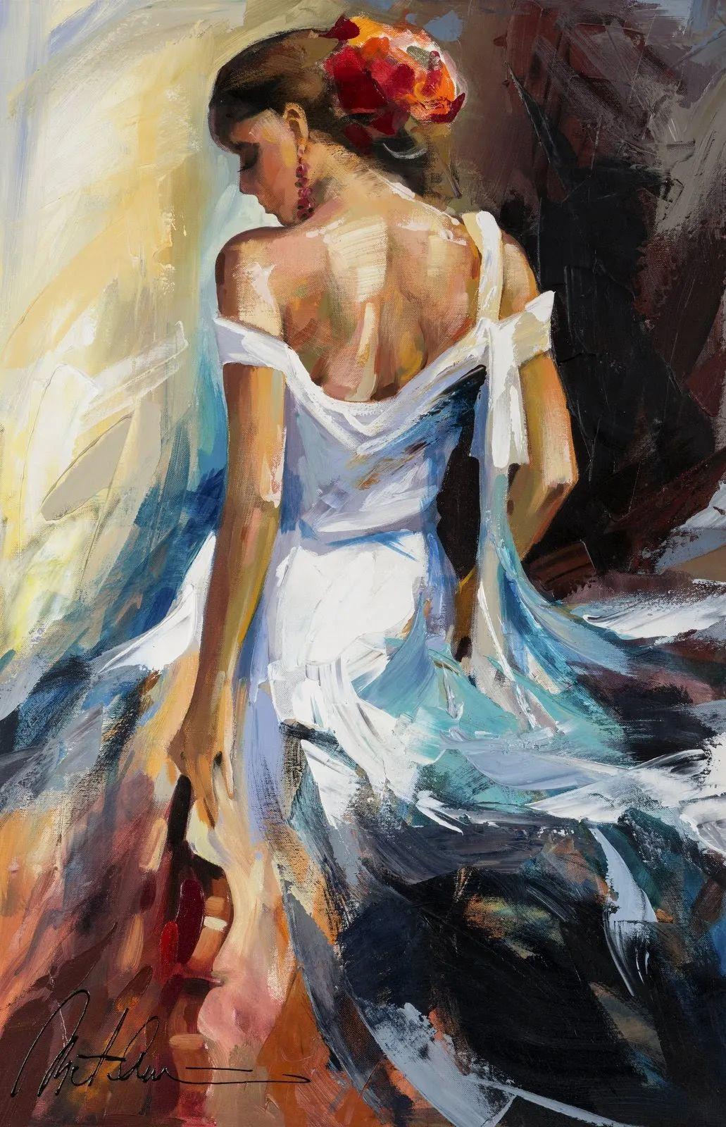 捕捉舞者的瞬间,色彩丰富表现力强!乌克兰画家阿纳托利·梅特兰插图35