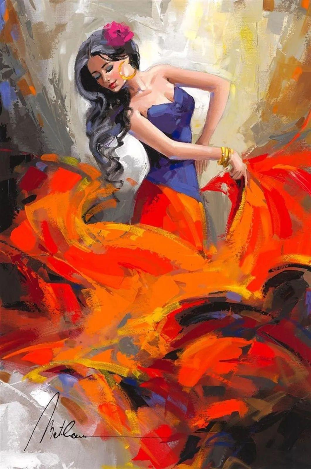 捕捉舞者的瞬间,色彩丰富表现力强!乌克兰画家阿纳托利·梅特兰插图37