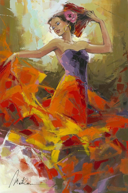 捕捉舞者的瞬间,色彩丰富表现力强!乌克兰画家阿纳托利·梅特兰插图45