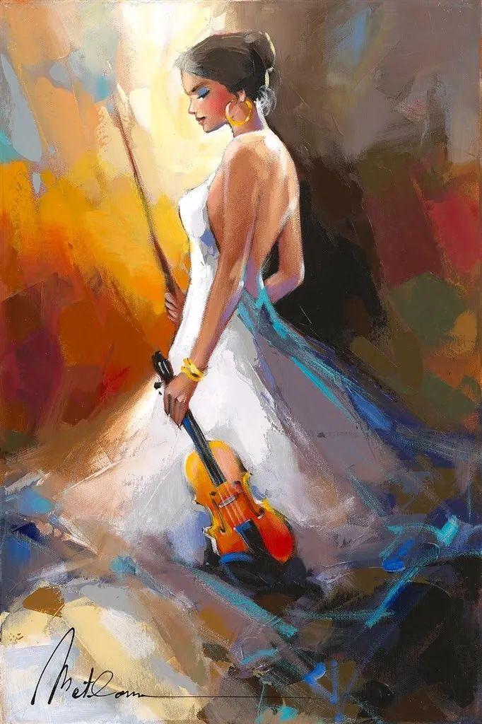 捕捉舞者的瞬间,色彩丰富表现力强!乌克兰画家阿纳托利·梅特兰插图57