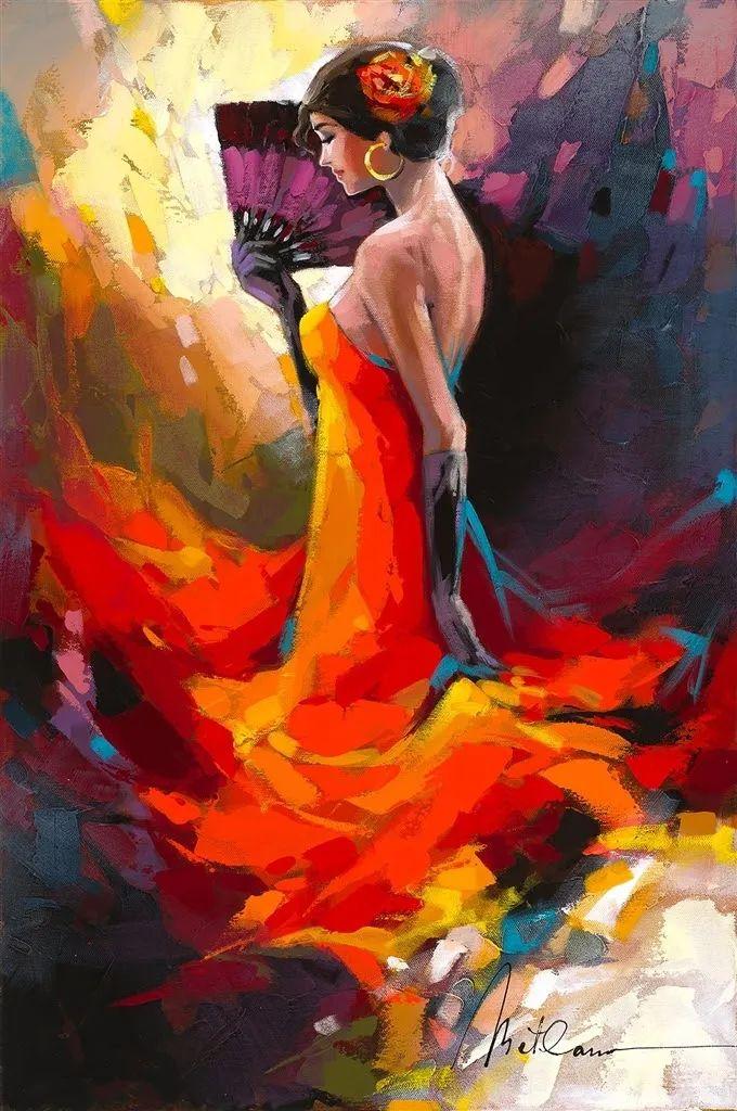 捕捉舞者的瞬间,色彩丰富表现力强!乌克兰画家阿纳托利·梅特兰插图61