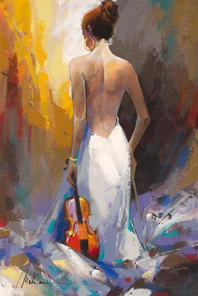 捕捉舞者的瞬间,色彩丰富表现力强!乌克兰画家阿纳托利·梅特兰插图73