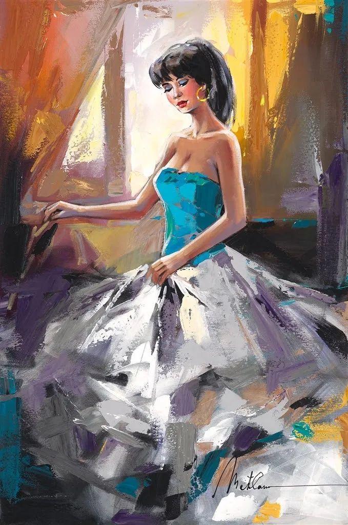 捕捉舞者的瞬间,色彩丰富表现力强!乌克兰画家阿纳托利·梅特兰插图75