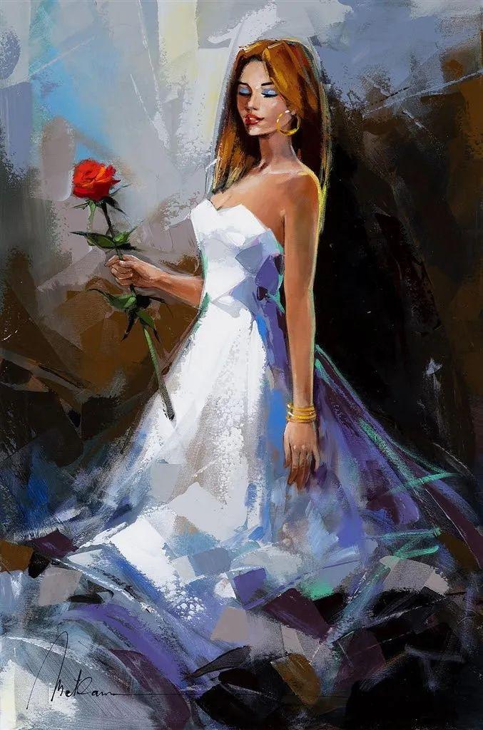 捕捉舞者的瞬间,色彩丰富表现力强!乌克兰画家阿纳托利·梅特兰插图77
