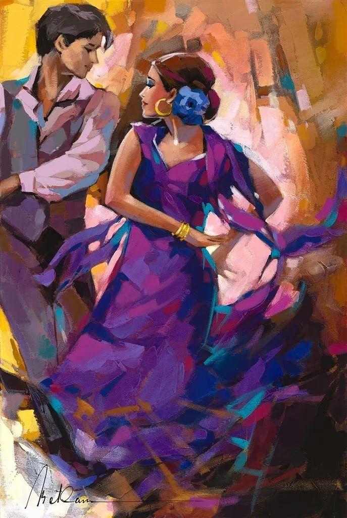 捕捉舞者的瞬间,色彩丰富表现力强!乌克兰画家阿纳托利·梅特兰插图81