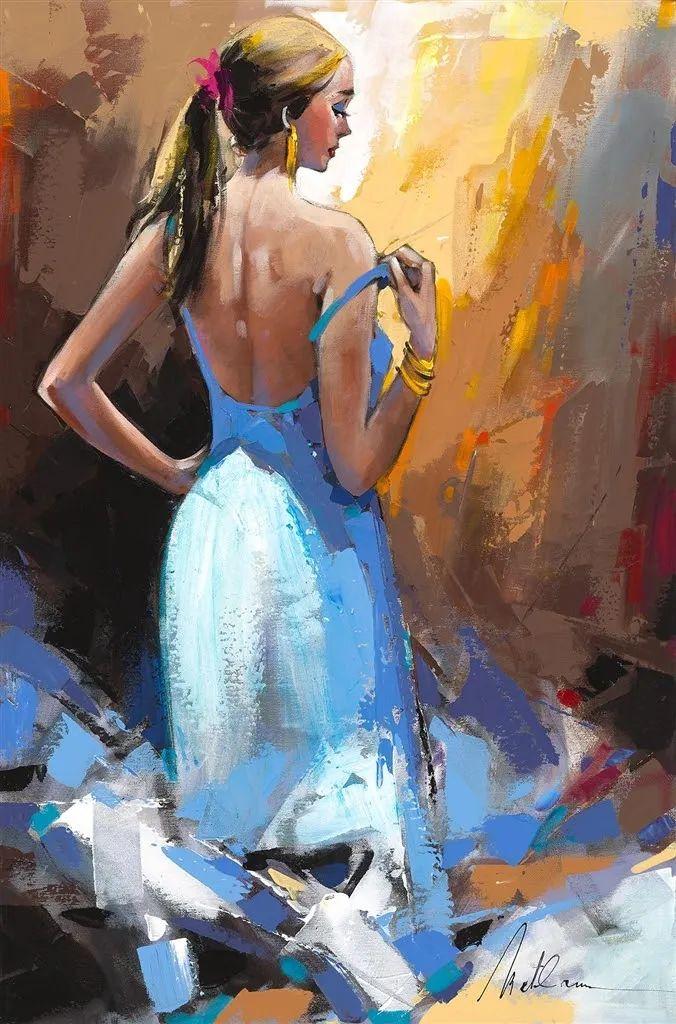 捕捉舞者的瞬间,色彩丰富表现力强!乌克兰画家阿纳托利·梅特兰插图83