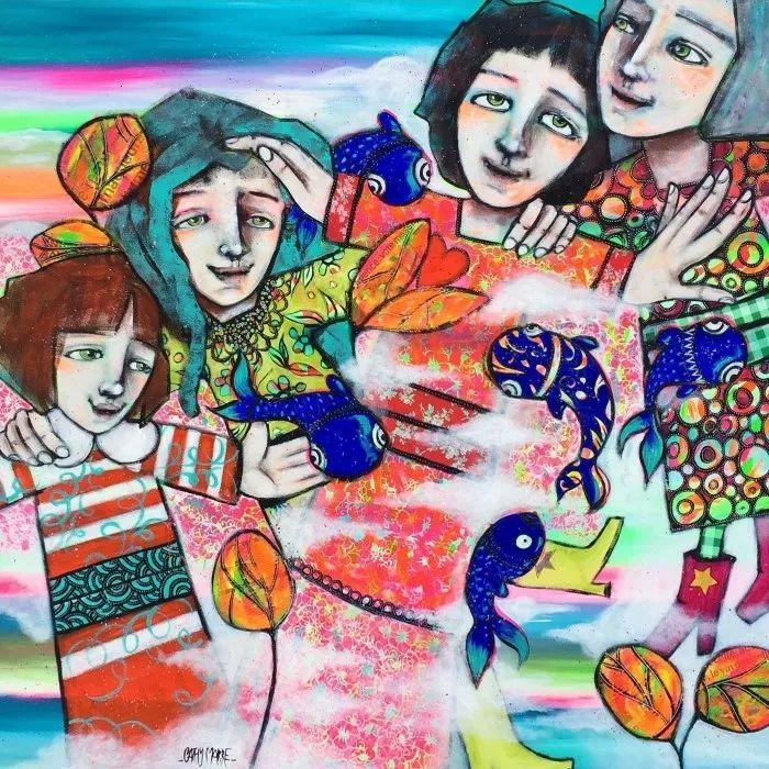 法国女艺术家Cathy Marre作品选插图1