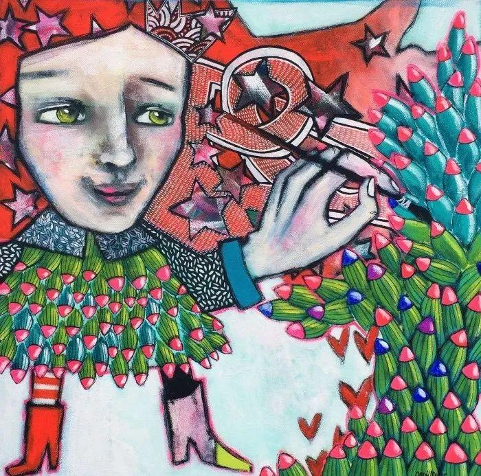 法国女艺术家Cathy Marre作品选插图3