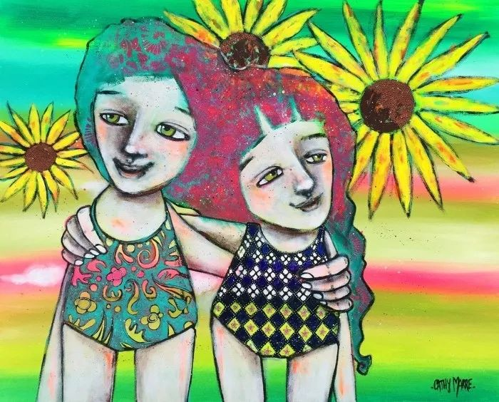 法国女艺术家Cathy Marre作品选插图7