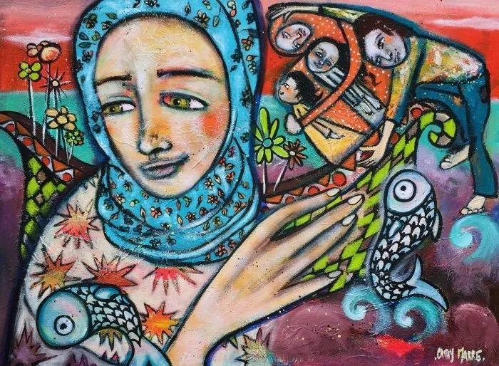 法国女艺术家Cathy Marre作品选插图11