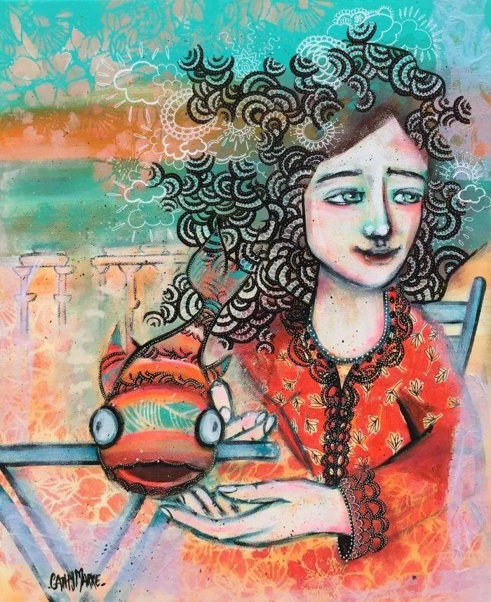 法国女艺术家Cathy Marre作品选插图15