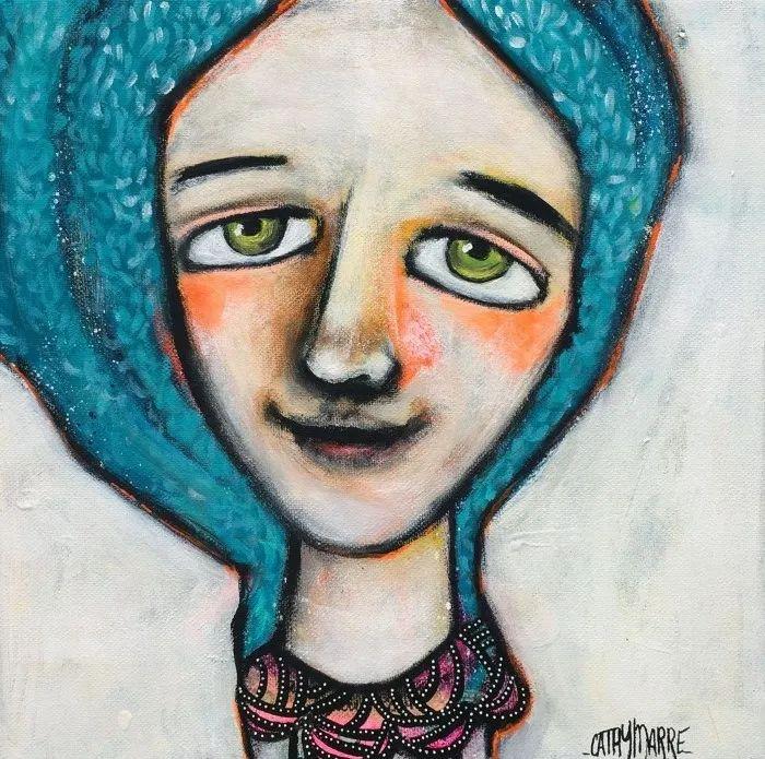法国女艺术家Cathy Marre作品选插图17